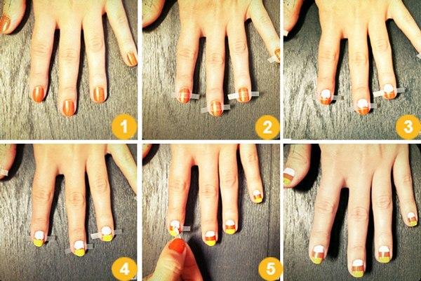Как сделать своими руками красивый маникюр