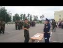 Влад на воинской присяге