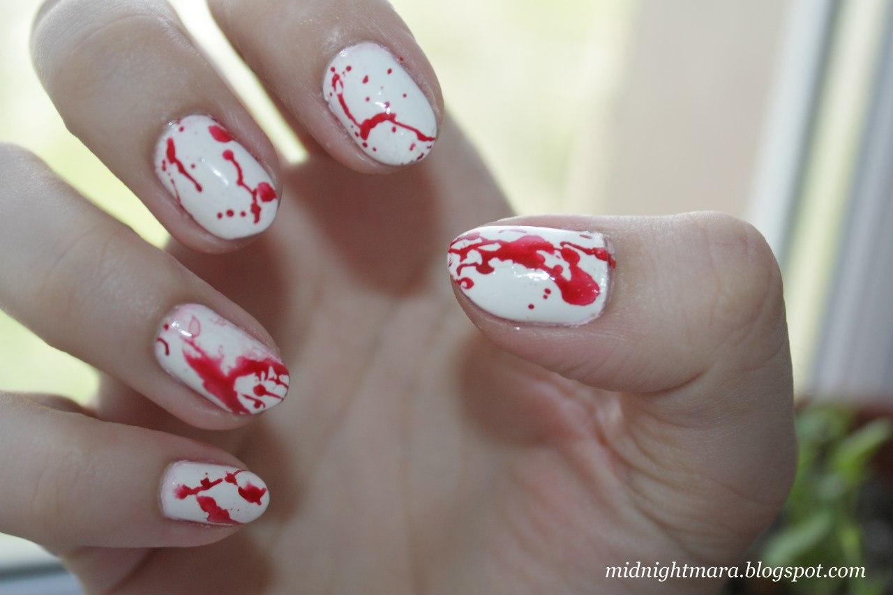 Губы на ногтях пошагово фото