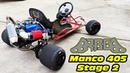 Manco 405 Stage 2 ~ 500hp Go Kart!! no