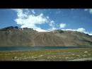 Высокогорное озеро на плато Арабель Киргизия