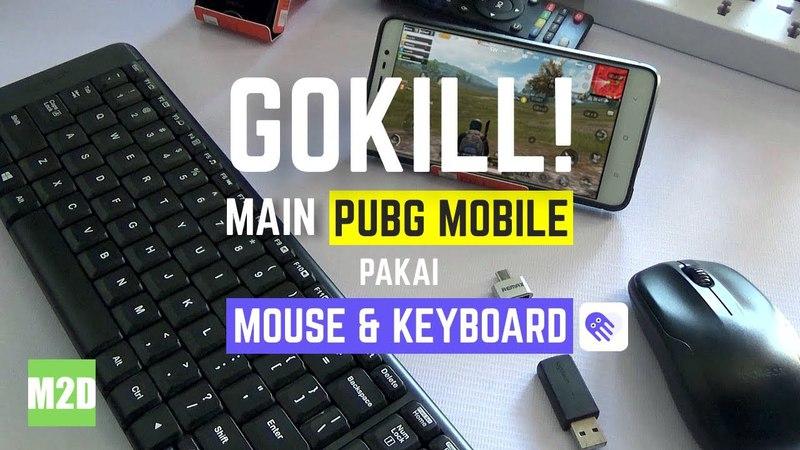 Main PUBG Mobile Pakai Mouse dan Keyboard [via Aplikasi Octopus]