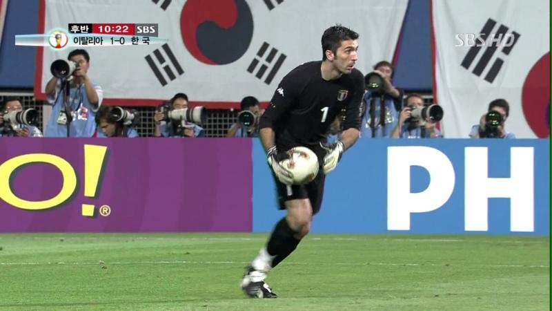 (1080p 60fps) 2002 한일 월드컵 16강 8경기 대한민국 VS 이탈리아 후반전 (저작권문제 일부장477
