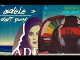 Adele vs Daft Punk - Something About The Fire (Official video Mashup)