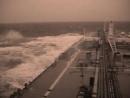 Шторм в Южно-Китайском море.