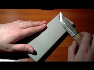Заточка ножей скандинавского типа. Scandi sharpening