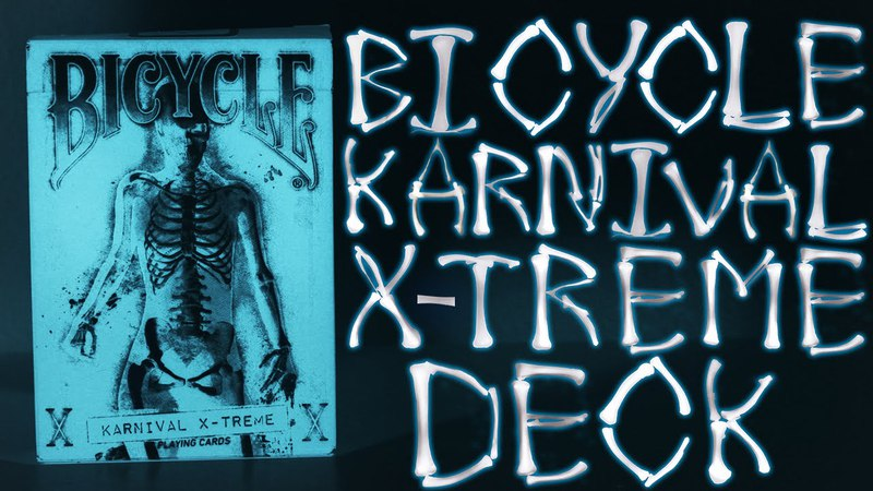 Deck Review - Bicycle Karnival X-Treme Playing Cards [HD]