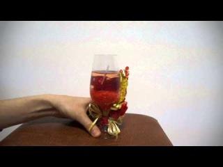 Ароматизированная свеча гелевая - A24Mag.ru
