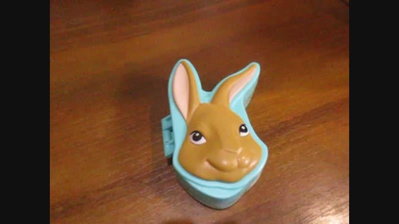 Магнитная игра с кроликом Питером.
