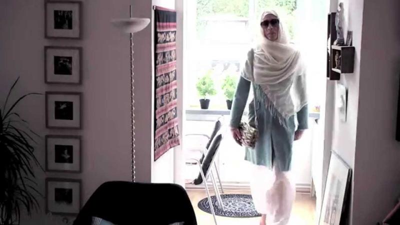 Headscarfs for my feminized Boyfriend - extreme Makover Hijab Style