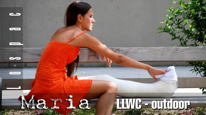 Cast Maria LLWC outdoor TRAILER
