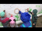 Как дети приобщались к стрит-арту. Ну и Ксюша Теплова вместе с ними