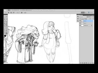 Character shape sketching 3