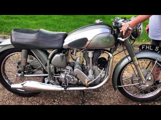 Мотоцикл norton international clubman tt factory specia 500l, 1953 года
