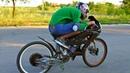 ✅Забацал Сверх Мощный Электро Велосипед 🚴 Разогнал 100 кмч и чуть не влетел🚀