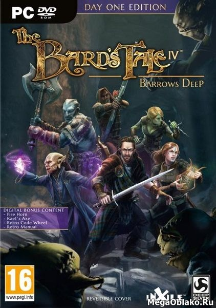 The Bard's Tale IV: Barrows Deep [Update 3] (2018/RUS/ENG/Repack от xatab)
