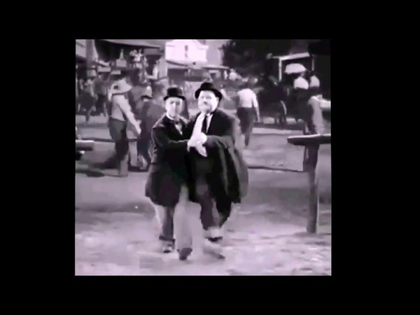 Laurel Hardy dance to Despacito
