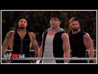 WWE 2K14 - What If... The Shield Were To Reunite?! (2014 Attires)