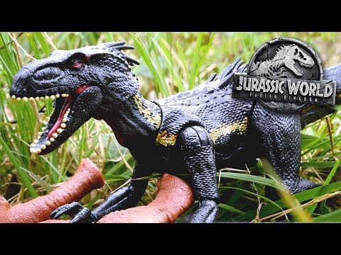 INDORAPTOR UNBOXING! - Jurassic World Fallen Kingdom - Mattel Review and Unboxing