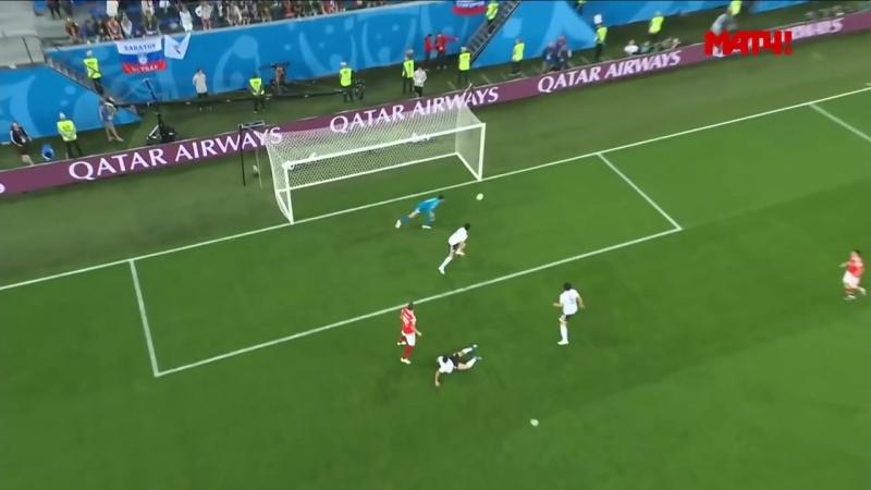 Россия - Египет. 3-1. Обзор матча