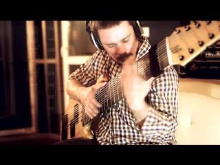 Студийная запись трека Pulse Of The Earth _ Уличный музыкант Василий Чернов _ 12