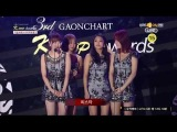 씨스타 - '올해의 가수상 음원부문 - 6월' 수상 (140212 제3회 가온차트 K-POP 어워드)
