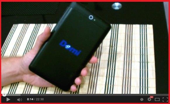 обзор планшета Domi X6