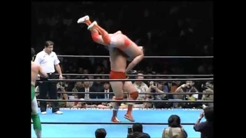Misawa Kobashi vs Kawada Taue (December 3, 1993)