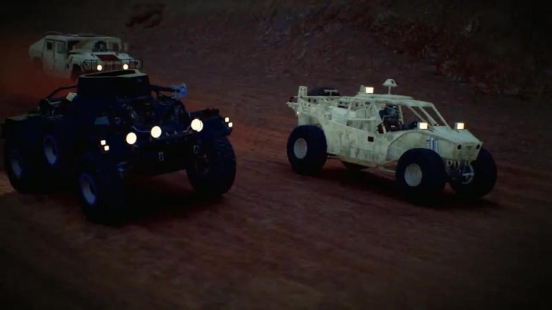 Дополнение Armored Operation для игры Gravel!