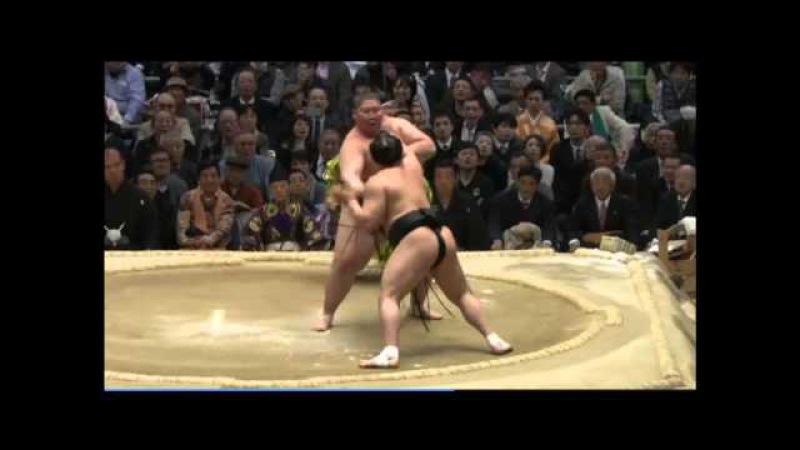 Day 3 Haru 2015 Ichinojo vs Harumafuji