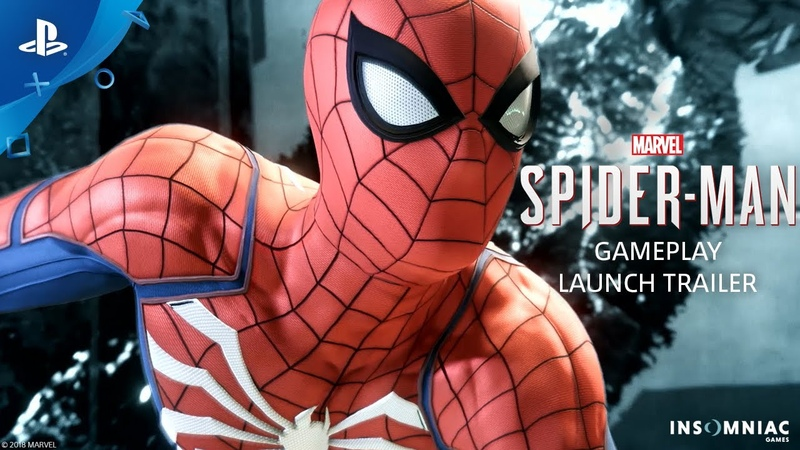 Человек-паук (Marvel's Spider-Man) – Gameplay Launch Trailer (PS4)(2018)