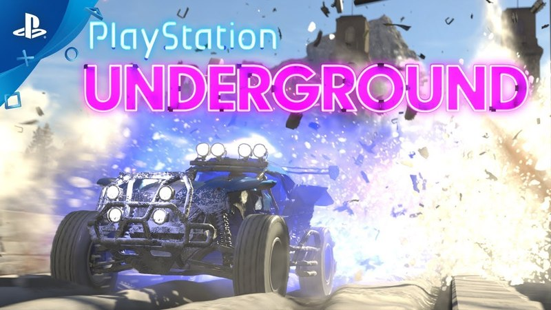 Onrush PS4 Gameplay PlayStation Underground
