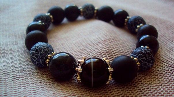 Мужские браслеты своими руками из камней