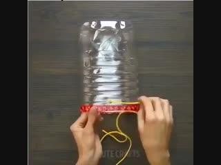 Варианты использования ненужных бутылок