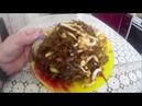 Салат из замороженной морской капусты и кальмаров - как приготовить