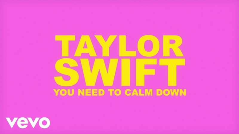 Taylor Swift - You Need To Calm Down (Lyric Video)