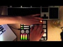 Wowbox - finger drumming performance (ableton, QuNeo)