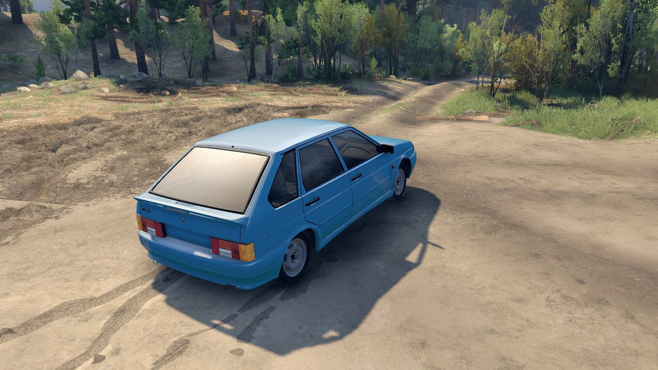 VAZ 2114 для Spintires - Скриншот 3