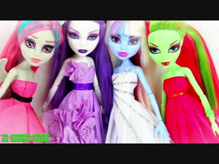 DIY - How to Make- Tissue Paper Prom Dress - BACK TO SCHOOL - Handmade - Doll - Crafts