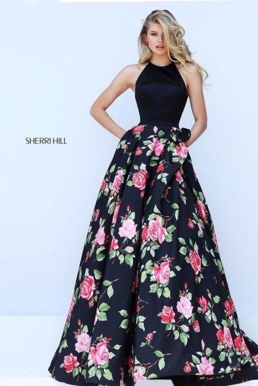 Платья с цветочными подолами! Шикарная коллекция Sherri Hill