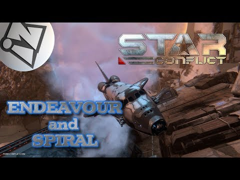 🔴StarConflict⚡⚡ENDEAVOUR and SPIRAL⚡⚡