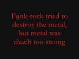 The Metal-Tenacious D Lyrics