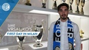 SIME VRSALJKO | First day at Inter
