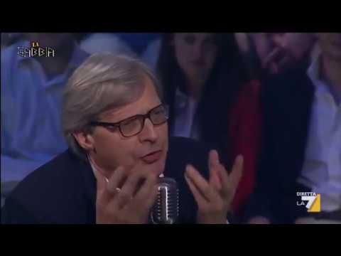 Vittorio Sgarbi, offese per tutti: Alfano e Grillo merda, Berlusconi una salma