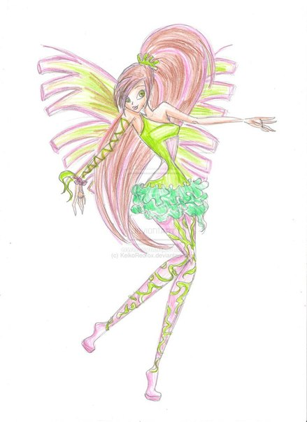 "������ Winx club - ������ ��� ""Go in the Space"" 6� ������!"
