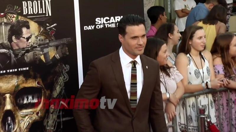 Brett Dalton Sicario Day of the Soldado Premiere Red Carpet