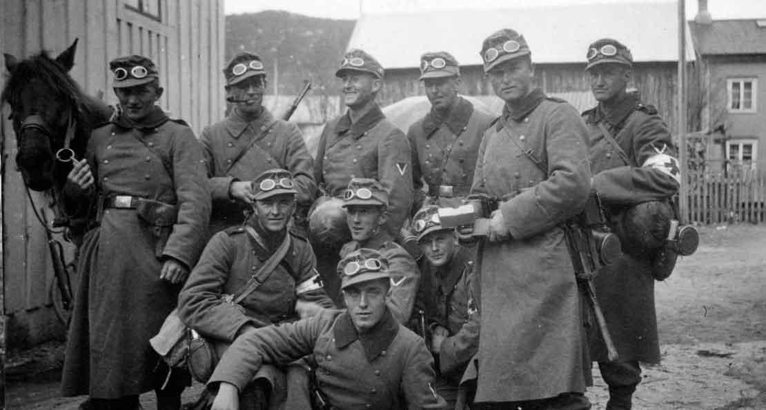 Немцы в Норвегии