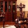 Мебель Индонезии из массива красного дерева