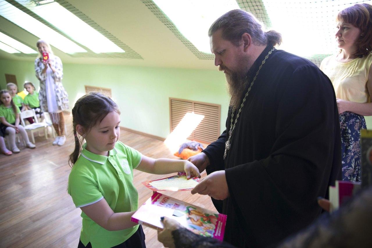 Воспитанники дошкольного отделения православной гимназии завершили учебный год