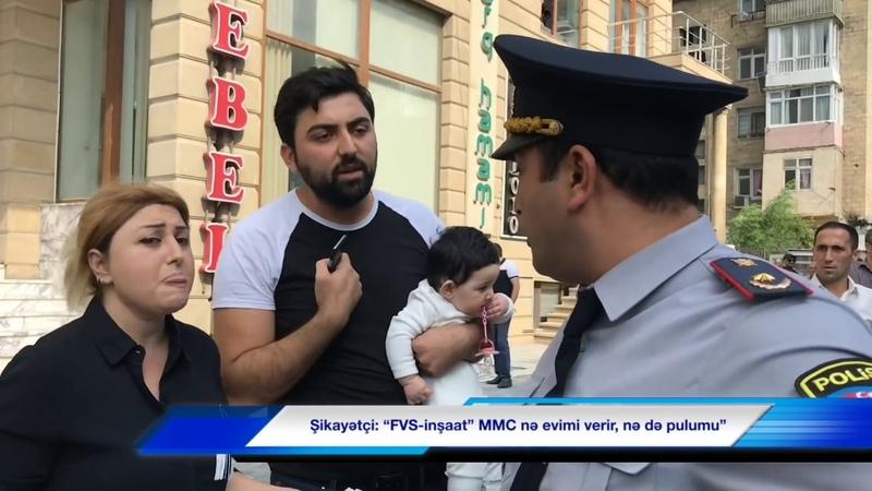 """Deputatın tikinti şirkətinə etiraz """"Özümü yandıracam"""""""